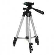 3110A Pro Camera Statief Draagbare Lichtgewicht Aluninum Statief Flexibele Statiefkop voor Canon Nikon Sony DSLR DV Camcorder