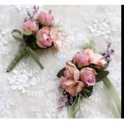 Set bratara si flori de pus in piept ARBC010