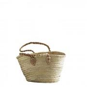 Einkaufstasche mit Lederhenkeln S Tine K Home