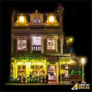 LIGHT MY BRICKS Kit for 10243 Parisien Restaurant