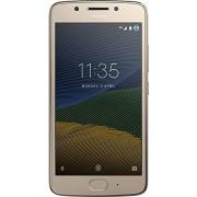 Motorola XT1670 Smartphone Moto G5 color Dorado. Single SIM, Desbloqueado Nacional