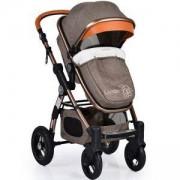 Бебешка количка с трансформиращ се кош Luxor, Cangaroo, бежова, 356153