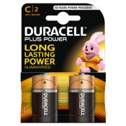 Pile Duracell Plus - mezzatorcia - C - 1,5 V - MN1400B2 (conf.2) - 283945 - Duracell