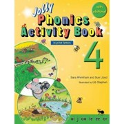 Jolly Phonics Activity Book 4 (in Print Letters), Paperback/Sara Wernham