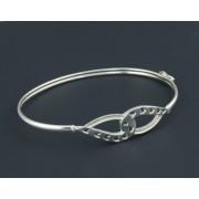 ezüst karkötő karperec reif 05