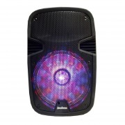 Parlante Portatil Potenciado Jackson JK-501Bluetooth Karaoke 800 W- Color Negro