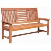 SenS-Line Sombrera 4-zits houten tuinbank
