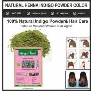 Organic Natural Hair Coloring Indigo Powder Set Of 3 300gm