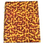 "Carolina Pad Studio C College Ruled Poly Cover Spiral Notebook ~ Totally Tortoise (Animal Print; 8.5"" x 10.5""; 80 Sheets, 160 Pages)"