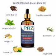 PRZ REFRESH ENERGY BELIEVE BLEND ESSENTIAL Oil (30 ML) Pure Therapeutic Grade for Yoga & Balancing Energy