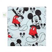 Bumkins Disney Baby Reusable Snack Bag, Mickey Classic, Large