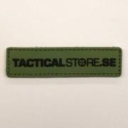 Tacticalstore PVC Patch 8x2cm - Grön/Svart