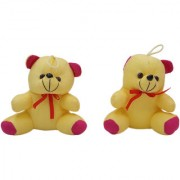 GoodEase Soft Toy Rabbit and Big Teddy With Her Baby Hand Plush Kids Animal Toy.