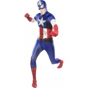 Morphsuits Morphsuit Captain America XL