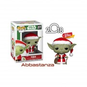 Santa Yoda Navidad Funko Pop Star Wars Holidays Christmas