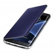 Clamshell Carcasa Protectora Espejo Funda Protección Del Sueño Para Samsung Galaxy J1/J2/J3/J5/J5Prime/J7/J7Prime-Azul