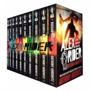 Alex Rider Collection 10 Books Anthony Horowitz Set Pack Russian Roulette