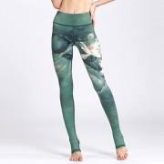 Pants Con Estampados De Dibujo Para Mujer E-Thinker - Verde