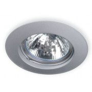 Oscaluz 230V halogeen inbouwspot vast, wit