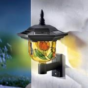 Lampa solara de perete gen Tiffany