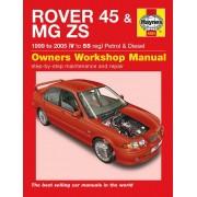 Haynes Manuel d'atelier Haynes Rover 45 / MG ZS Essence & Diesel (1999-2005) 4384