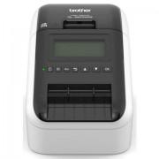 Brother etikettenprinter »QL-820NWB Etikettendrucker LAN/WLAN/Bluetooth« - 211.64 - zwart
