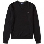 FRED PERRY Classic V-neck Tröja Herr (XS)