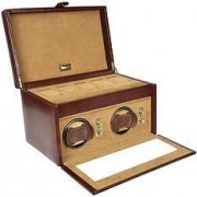 Dulwich Heritage Watch box with rotomotive double bronze watches