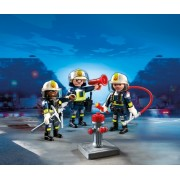 Echipa de pompieri Fire Brigade Playmobil