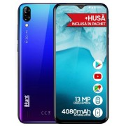 "Telefon mobil iHunt Alien X Lite 2020, Procesor Quad-Core 1.3GHz, IPS 6.1"", 1GB RAM, 16GB Flash, Camera Duala 13+5MP, Wi-Fi, 3G, Dual Sim, Android (Albastru) + Cartela SIM Orange PrePay, 6 euro credit, 6 GB internet 4G, 2,000 minute nationale si internati"