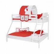 Dečiji krevet na sprat Maxim Beli My Love