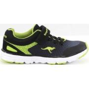 Kangaroos Sneakers Exodus svart/lime