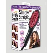 BANQLYN Simply Straight Ceramic Straightening Brush - (Hair Straightener Curler and Styler - MutliColor)0