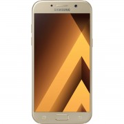 Telefon mobil Samsung Galaxy A5 (2017) 4G, 5.2'', RAM 3GB, Stocare 32GB, Camera 16MP/16MP, Gold