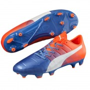 Puma evopower 2.3 fg blue / orange - Scarpe da calcio