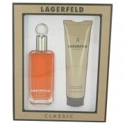 Karl Lagerfeld Eau De Toilette Spray 3.3 oz / 100 mL & Shower Gel 5 oz / 150 mL Gift Set Men's Fragrances 510918