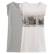LA REDOUTE COLLECTIONS 2er-Pack Nachthemden