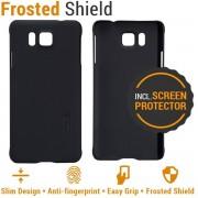 Nillkin Backcover Samsung Galaxy Alpha (Super Frosted Shield Black)