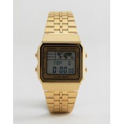 Casio Цифровые часы с картой Casio A500WGA-1DF - Золотой