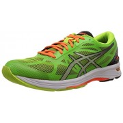 ASICS Men's Gel-Ds Trainer 20 Neutral Flash Yellow, Silver and Flash Green Mesh Running Shoes - 6 UK