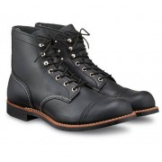 Red Wing Iron Ranger Herr, Svart, 42