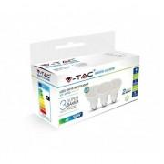 VTAC KIT Super Saver Pack VT-2095 3PCS/PACK Lampadine spot LED faretto 5W GU10 bianco caldo 3000K - sku 7269