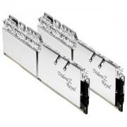 Memorie G.Skill Trident Z Royal Silver RGB 16GB (2x8GB) DDR4 3200MHz 1.35V CL14 Dual Channel Kit, F4-3200C14D-16GTRS