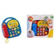 Simba Dickie Färgglad telefon med ljud och ljus