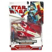 Transformers Star Wars 2009 Legacy Crossovers Obi-Wan Kenobi To Jedi Starfighter Action Figure