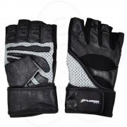 Fitnes rukavice Xplorer mesh-koža XL