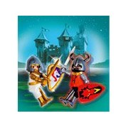 Playmobil Two Knight Castle Figures, 5815