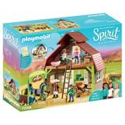 Playmobil Spirit II, Hambar cu depozit