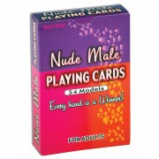 Male Nude Playing Cards (24/DP)
