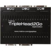 Външен мулти-дисплей адаптер Matrox T2G-D3D-IF за едновременна работа на 3 монитор с DVI/VGA вход